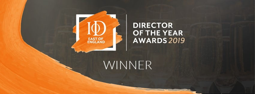 Laura wins IoD CSR Director award