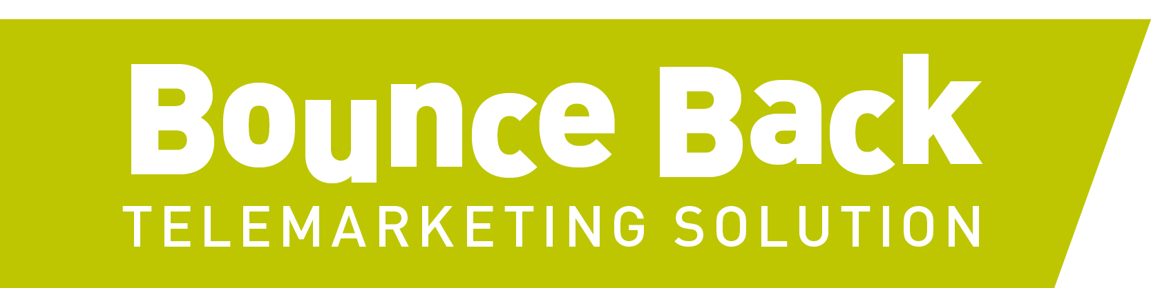 Bounce Back Telemarketing Solution new from Your Telemarketing